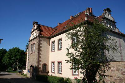 Schloss Hackpfüffel - erbaut vom Grafen Artur von Kalkreuth