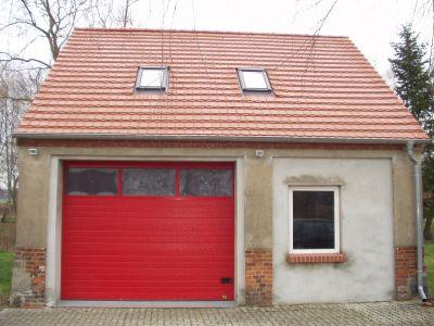 im Umbau befindliches Feuerwehrgerätehaus