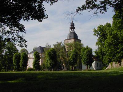 Schloss mit Bergfried