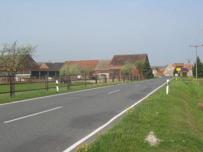 Ortseingang aus Richtung Großbahren