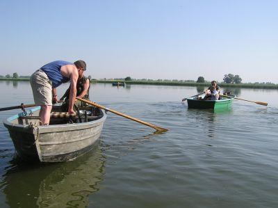 Ausfahrt zum Hegefischen