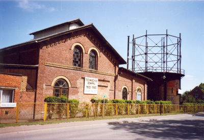 Technisches Denkmal   Gaswerk Neustadt (Dosse)
