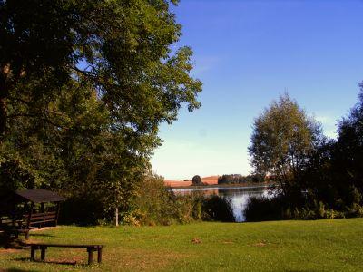 Blick auf den Schmöllner See