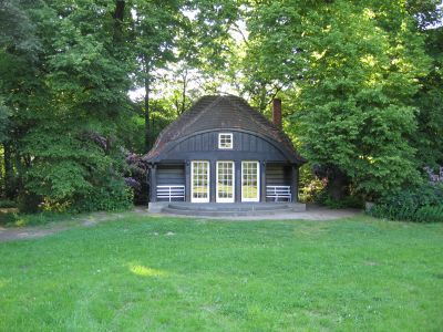 Teehaus im Park