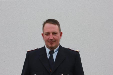 Ortswehrführer Marcel Zimmermann