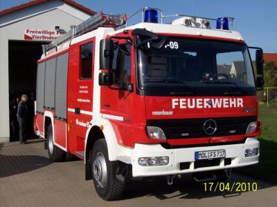 Einsatzfahrzeug LF 20.20 Rosenbauer Baujahr 2009