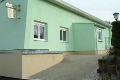 """Bürgerhaus """"Flora"""" 2012 im Oktober   neuer Eingangsbereich"""