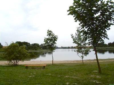 Blick auf den Lützlower See