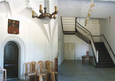 Im Inneren des Gutshauses