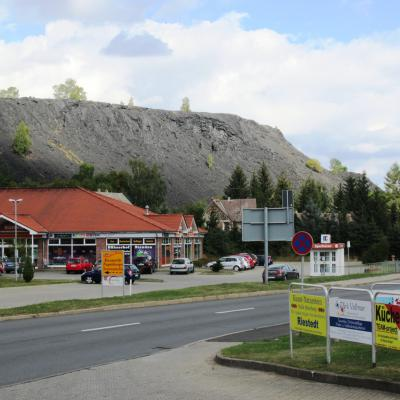 Center Wimmelburg / Bushaltestelle
