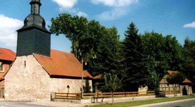 Das Spitalgelände mit Kapelle St. Andreas