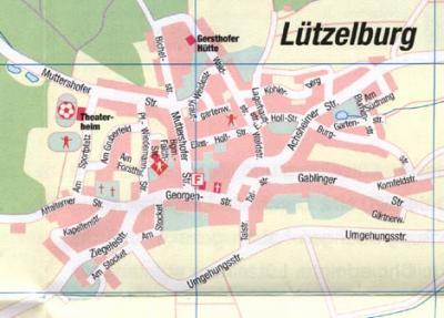 Ortsplan Lützelburg