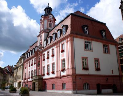 Rathaus Weißenfels / Town Hall Weissenfels