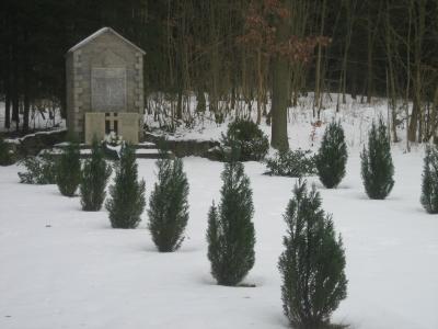 Denkmal im Winter