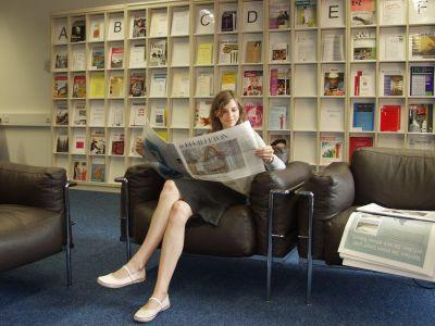 Bereich der Zeitungen und Zeitschriften