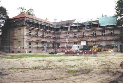Schloss Wolfshagen / Bausanierung 2000/2001