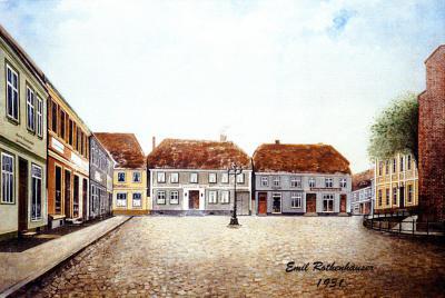 Ölgemälde von Emil Rothenhäuser, 1931