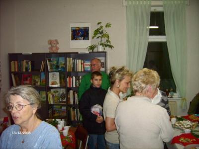 Eröffnung Gemeinde-Bücherei Nedlitz