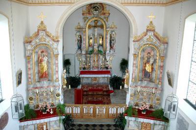 der prachtvolle Altar