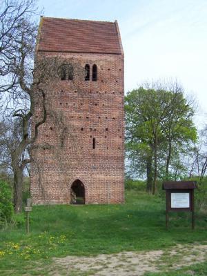 Kirchenruine Käcklitz