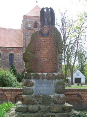 Kriegerdenkmal in Berge