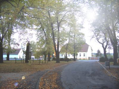 Lindenplatz mit Gutsgebäude