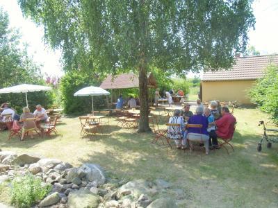 Mühlentag 2014 am Gemeindehaus mit Backofen