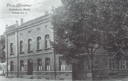 Bahnhofshotel 1910