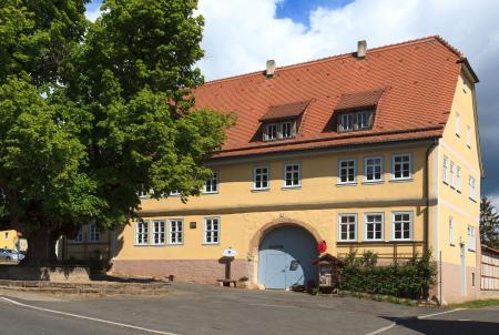 Touristinformation im Baumbachhaus