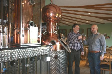 Brauerei Eckart Brennanlage