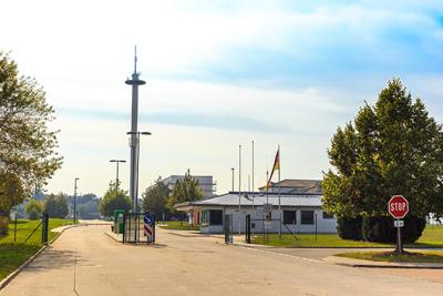 Eingang zur Flugabwehrraketengruppe 24