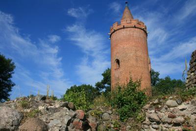 Burgturm in Putlitz