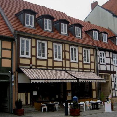 Außenansicht Cafe Schröder