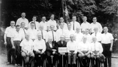 Der Männergesangsverein 1960