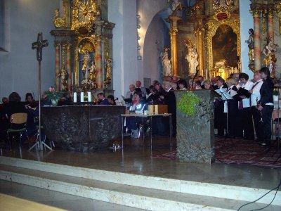 Chor mit Kammermusikkreis