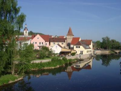 An der Tauber in Creglingen