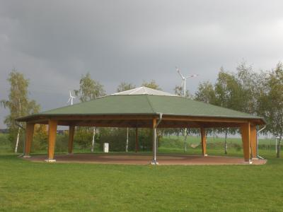 Festplatz in Nechlin