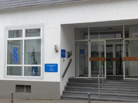 Außenansicht Kanzlei in der Berliner Str. 33