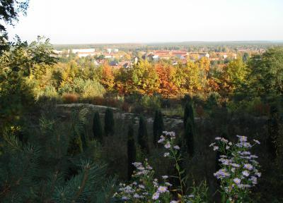 Fernsicht im Herbst
