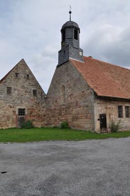 Turmscheune der Klosteranlage Trostadt