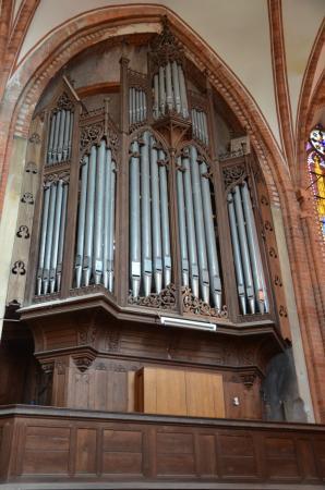 Orgelprospekt Klosterkirche Dobbertin - Aufnahme: E. Rese