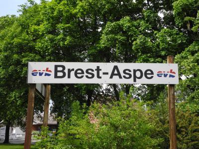 Der Bahnhof Aspe