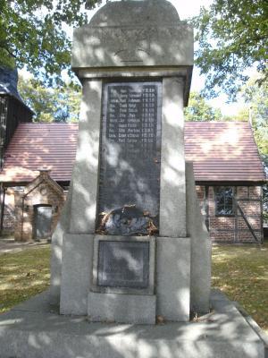 Krieger-Denkmal in Wendisch Priborn
