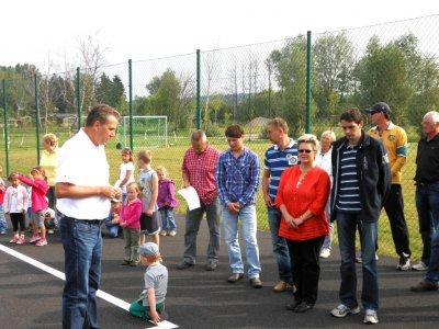 Eröffnung der Sport- und Freizeitanlage bei der Peene am 11.7.2012