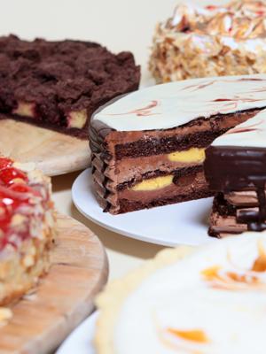 Hausgemachte Kuchen & Torten