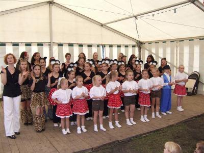 Die Tanzmäuse beim Eisenbahnfest 2008