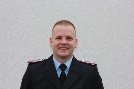 Ortswehrführer (kommissarisch) Fabian Porcher