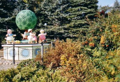 Die Spieldose (das Symbol des Ortes)