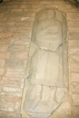 Figurengrabstein Hermann von Plote (auch: Plothe)