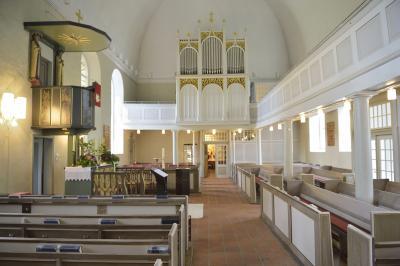 In der St. Petri Kirche.  Foto: Andreas Dittmer